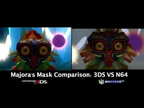 Zelda: Majora's Mask 3DS vs. N64 Comparison (Intro & More)