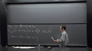Wei ZHANG - Selmer Groups for Rankin-Selberg L-functions of GL(2)xGL(3)
