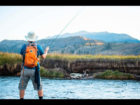 Camping In The Sierra Mountains + First Time FLY FISHING!!