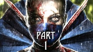 Mortal Kombat X Walkthrough Gameplay Part 1 - Intro - Story Mission 1 (MKX)