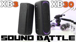 Sony SRS XB30 vs SRS XB3 SoundBattle: The real sound comparison (binaural recording)