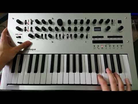 Synth solo from No Problem by deadmau5, on a Korg Minilogue