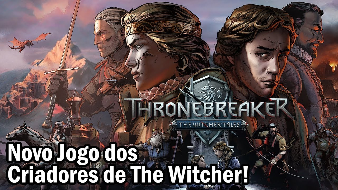 NOVO JOGO DA EQUIPE DE THE WITCHER!? | Thronebreaker: The Witcher Tales