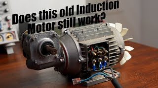 Does this old Induction Motor still work? || How do Asynchronous Motors work? EB#46