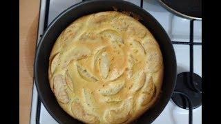Шарлотка пышная с домашними яблоками и грушами в духовке рецепт пошагово
