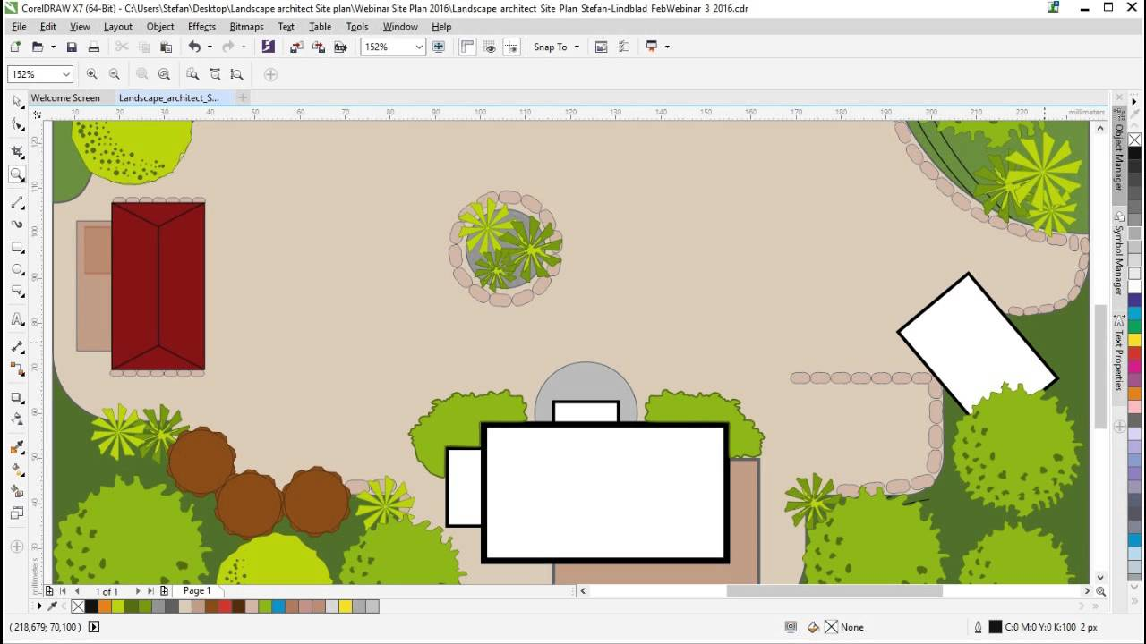 Coreldraw webinar how to create a vector landscape for Draw website layout online
