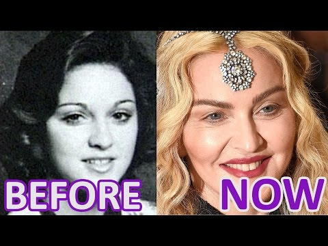 Woman and Time: MADONNA. Before and Now