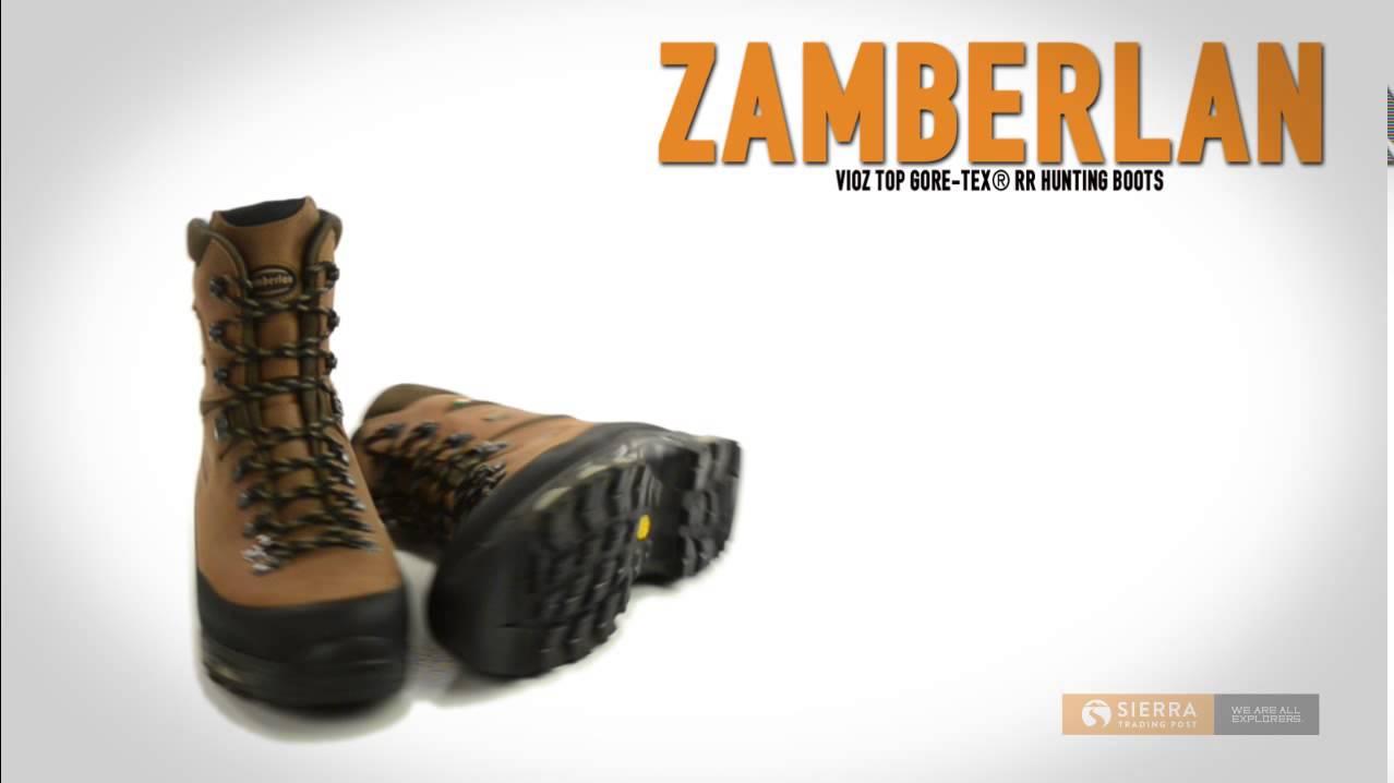 b582b5c1a2d Zamberlan Vioz Top Gore-Tex® RR Hunting Boots - Waterproof (For Men)