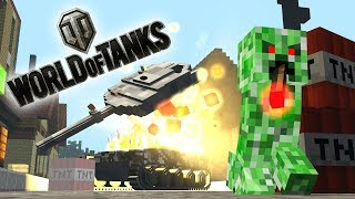 ✅ Monster School : World of Tanks Blitz - War Thunder  - Minecraft Animation