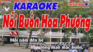 Nỗi Buồn Hoa Phượng Karaoke 123 HD (Tone Nam) - Nhạc Sống Tùng Bách