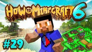 VILLAGER UTOPIA COMPLETE! - How To Minecraft #29 (Season 6)