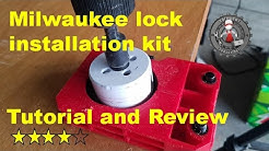 Milwaukee door lock installation kit review and tutorial 49-22-4073