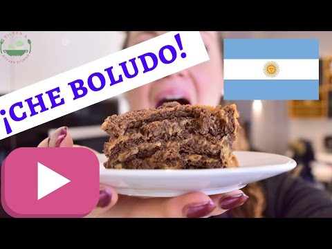How to make ARGENTINE CHOCOTORTA | no bake cake