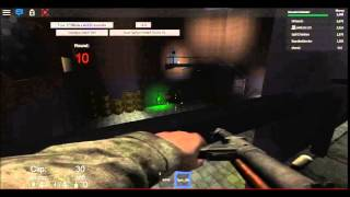 PLAYING ROBLOX WAW ZOMBIES WITH JAMLOL123 ON DER REISE