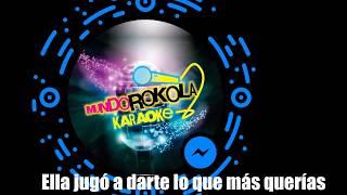 LUANA - A ELLA karaoke by @MundoRokolaKaraoke INSTRUMENTAL BY @IAN PLENERO