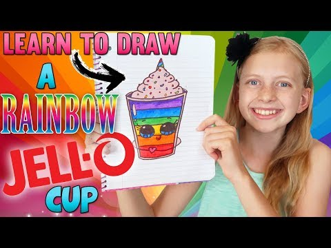 Cute Jello Cup ⭐️ || Art with Alyssa