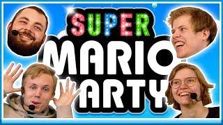 SUPER MARIO PARTY med Andreas, Jacob och Mathilda!