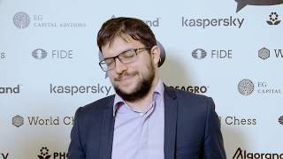 Riga Grand Prix 2019 / Final, game 1 / Interview with Vachier-Lagrave thumbnail