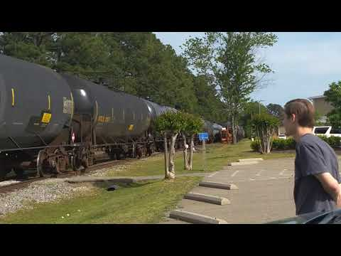 Aberdeen And Rockfish Train Pulling Oil Tankers