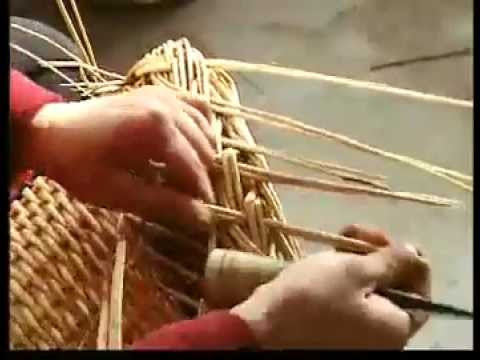 How To Make A Handwoven Wicker Basket