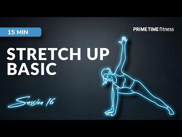 Live Workout Session - Stretch up basic Vol.22