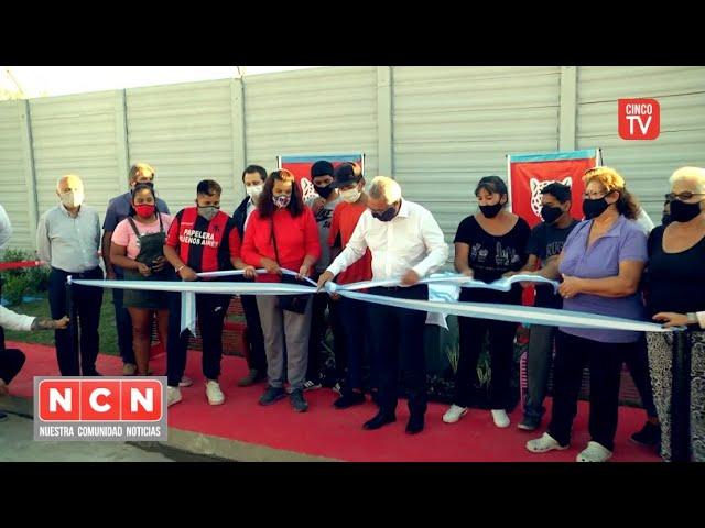 CINCO TV - Julio Zamora inauguró una nueva senda aeróbica en General Pacheco