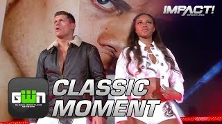 Cody & Brandi Rhodes Debut in the IMPACT Zone (TNA Bound For Glory 2016) | Classic IMPACT Moments