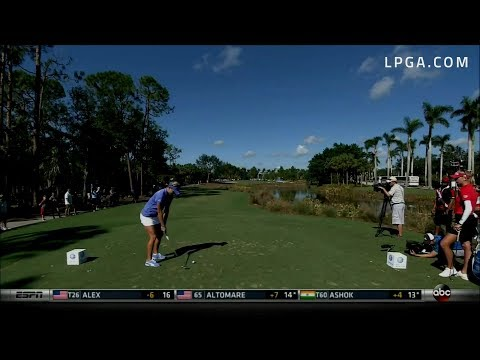 Lexi Thompson Final Round Highlights - 2017 CME Group Tour Championship
