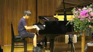 杉並区Gクレフピアノ教室 2019年9月発表会 小3 平吉毅州 「真夜中の火祭り」