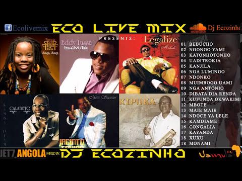 Semba Mix (100 % Lingua Nacional) II Mix 2017 Vol. 15 - Eco Live Mix Com Dj Ecozinho