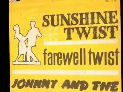 Johnny & Hurricanes - Sunshine Twist  (Rare Danish 45-cover - 'true Stereo'  1960)