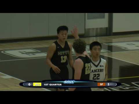 Archbishop Mitty Monarchs vs St. Francis Lancers - Boys Basketball  January 21, 2017