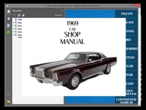 lincoln continental mark iii (1969) - service manual - wiring diagram