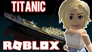WE GO DOWN with the SHIP//Roblox-Titanic