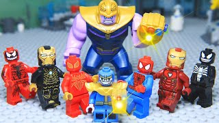 Lego Superhero Avengers Civil War Venom Rescue Thanos