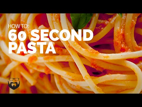 Cook Pasta in 60 Seconds