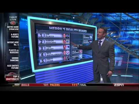 Merril Hoge says Joe Flacco is best QB in NFL