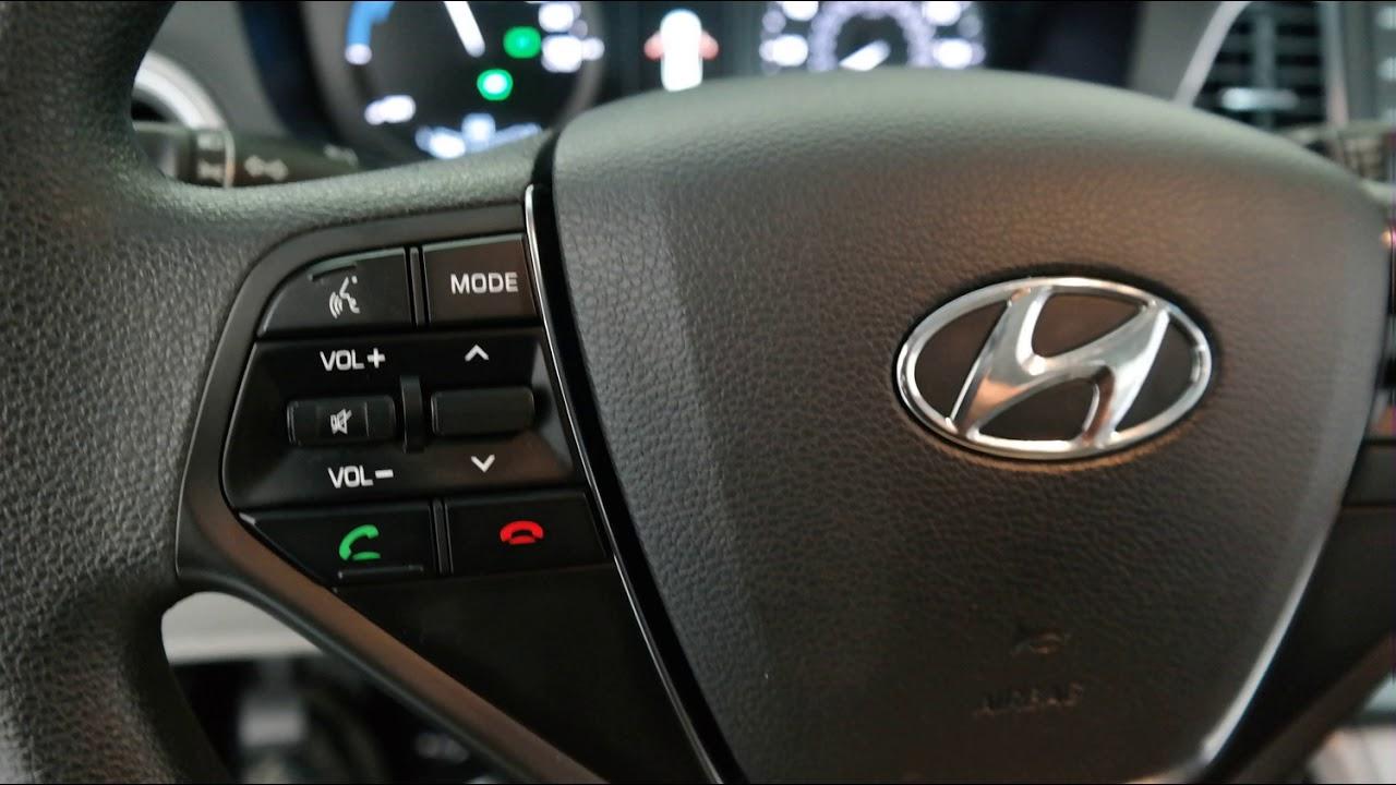 2016 Seaport Mist Hyundai Sonata Hybrid 4d Sedan Np2306