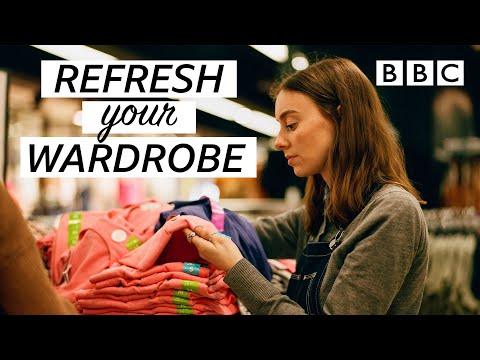 The most sustainable way to refresh your wardrobe! | Fashion Conscious - BBC