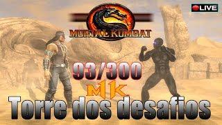 🔴 MORTAL KOMBAT KOMPLETE EDITION │Zerando no very  hard + Torre dos desafios !