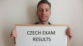 Czech Language Exam Results - talking Czech VLOG 6