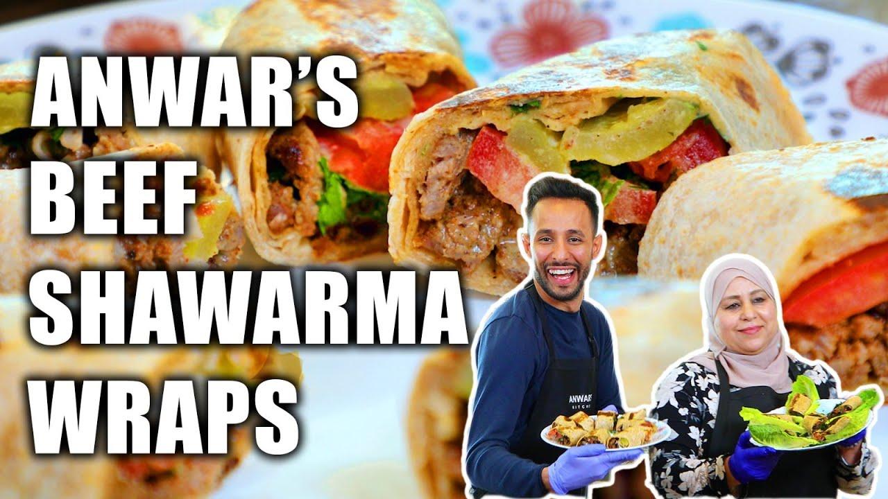 Best Beef Shawarma Recipe | Anwar's Kitchen