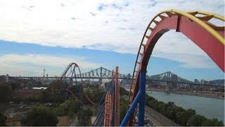 Goliath front seat on-ride HD POV La Ronde