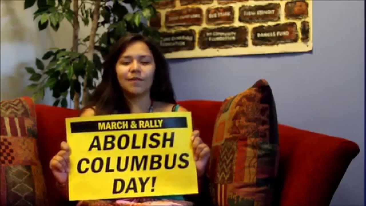 why abolish columbus day Abolish columbus day  the second monday in october is designated as columbus day, celebrating columbus's  why do we celebrate a man who killed and.