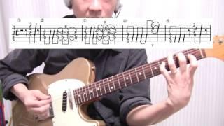 ■良いギター練習!The Police ポリス「De Do Do Do, De Da Da Da 」tab譜付弾き方解説動画!