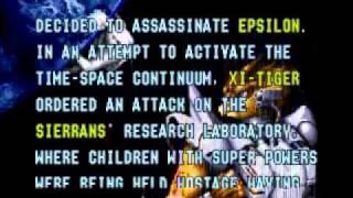 Alien Soldier - Sega Genesis - Intro