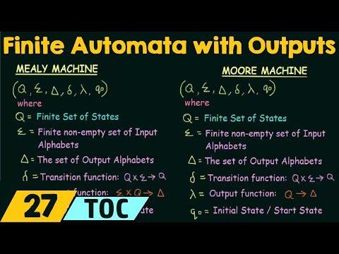 Finite Automata With Outputs
