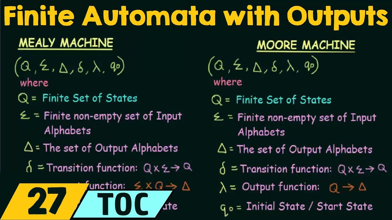 difference between mealy and moore machine pdf