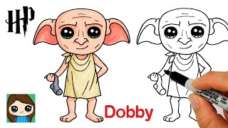 How to Draw Dobby House Elf | Harry Potter