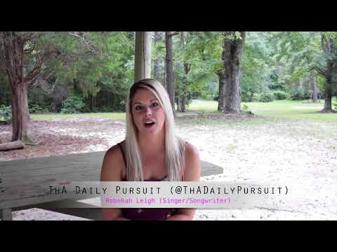 Rebekah Leigh interview with ThA Daily Pursuit
